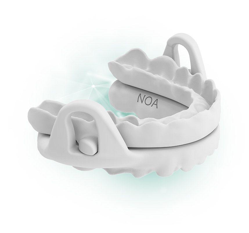 dispositivo de avance mandibular para la apnea del sueño