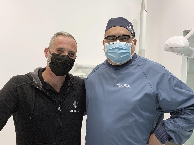 Eduardo Vargas y alberto guitián, profesionales de esta colaboración pacientes daño neurológico